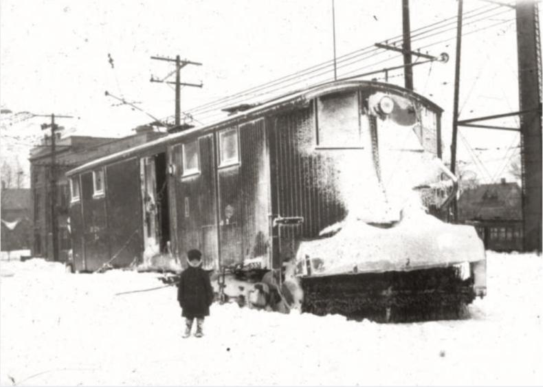 1924: Blizzard in Milwaukee, Wisconsin