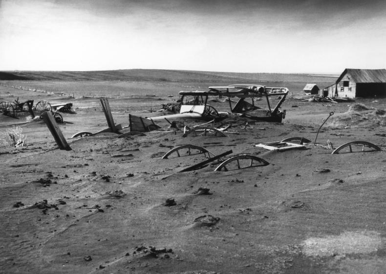 1934: South Dakota's first Dust Bowl storm