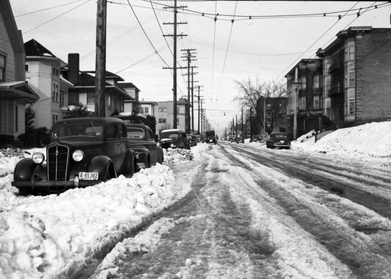 1943: Northern Rockies storm in January