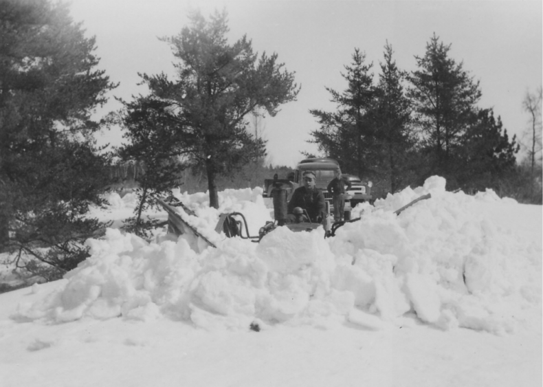 1950: Arctic storms in the Pacific Northwest