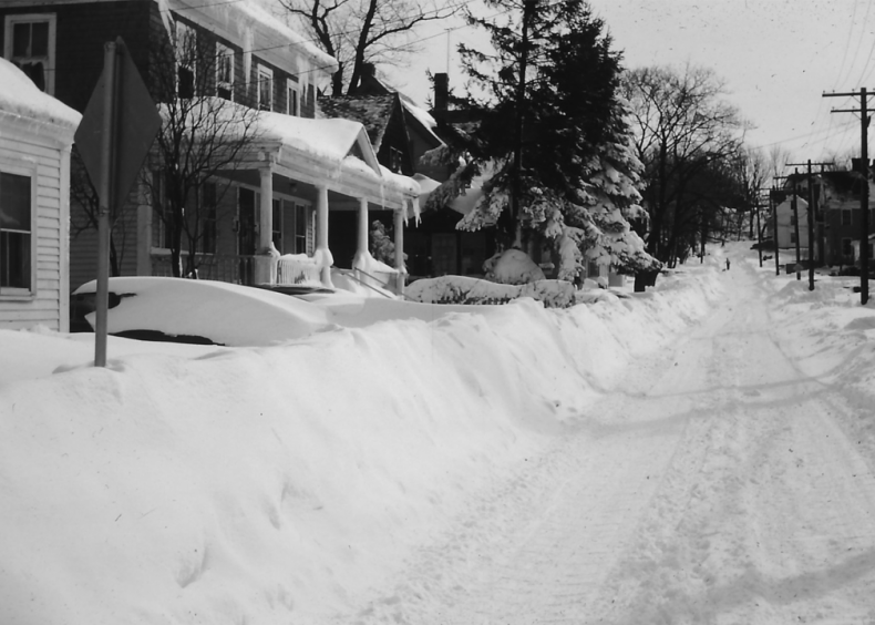 1958: New England nor'easter