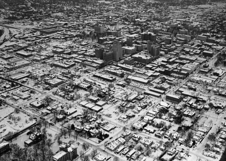 1960: Three major storms