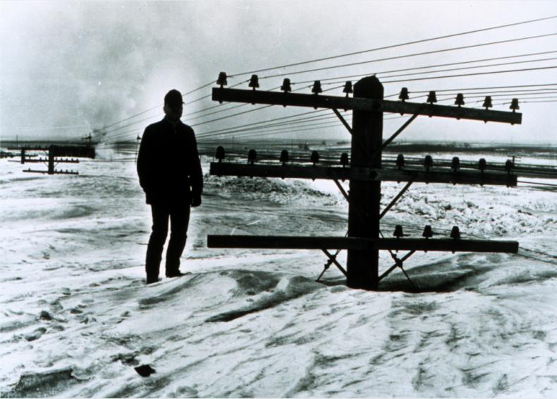 1966: North American blizzard of 1966