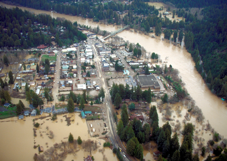 1986: Pacific storms and flooding
