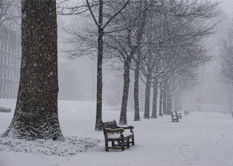 1990: Storms and cold snaps countrywide