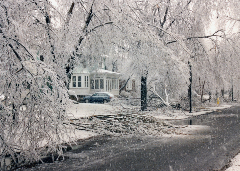 1991: Ice storm in Rochester, New York