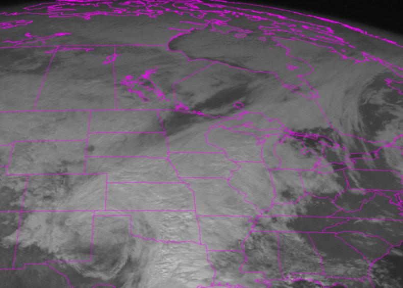 1992: Midwest Halloween blizzard