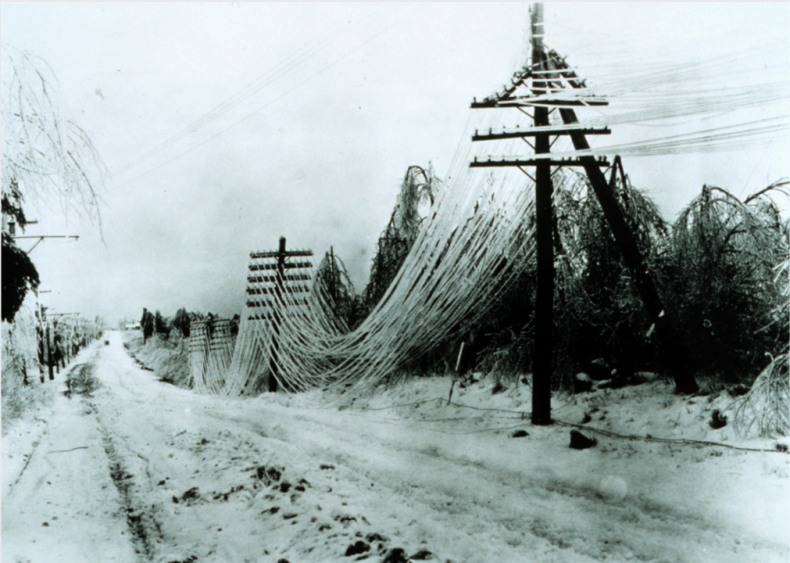 1994: Southeast ice storm