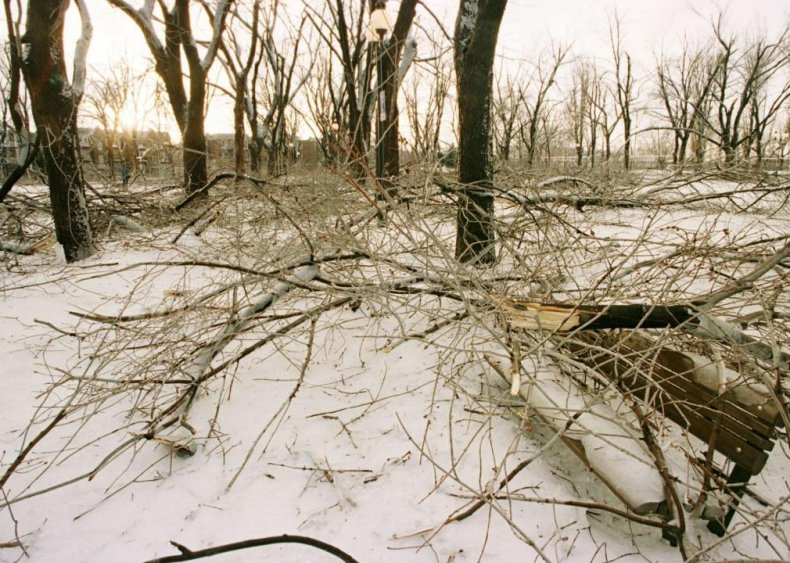 1998: Ice storm in the Northeast