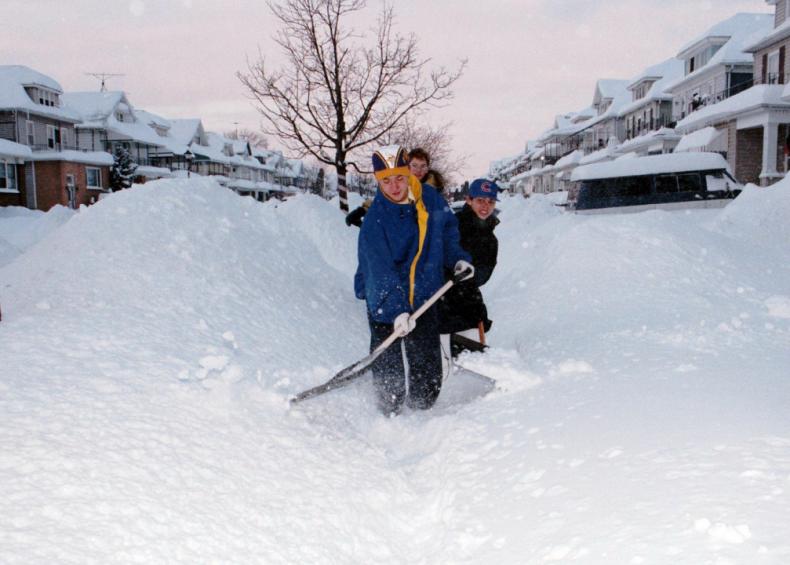 1999: North American blizzard of 1999