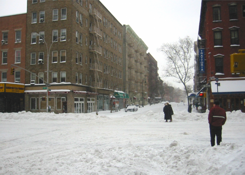 2003: Presidents' Day storm