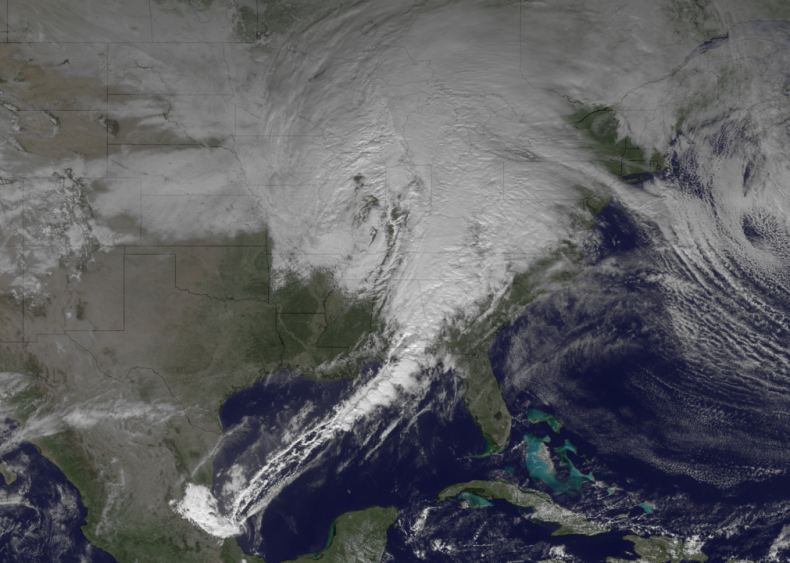 2012: A blizzard in the South