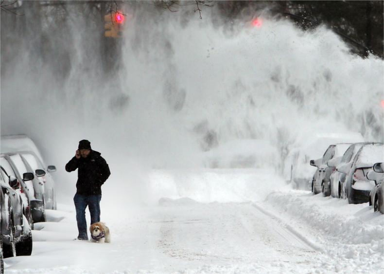 2014: California floods and Mid-Atlantic blizzards