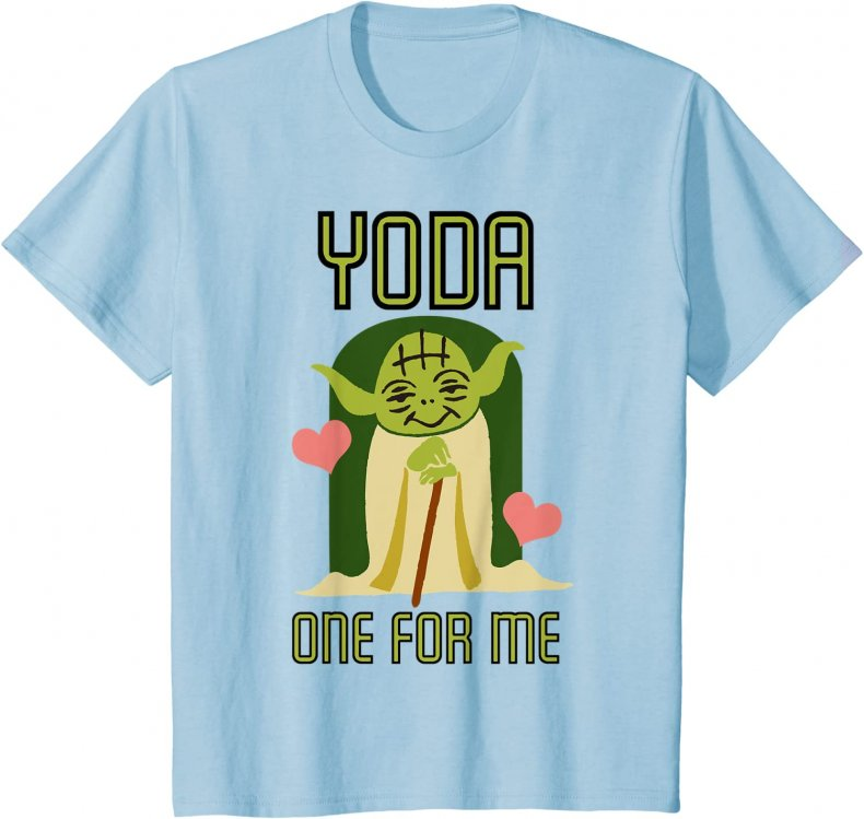 Yoda Star Wars Tshirt for kids