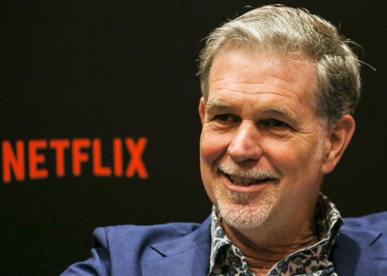 #18. Reed Hastings (Netflix, Inc.)