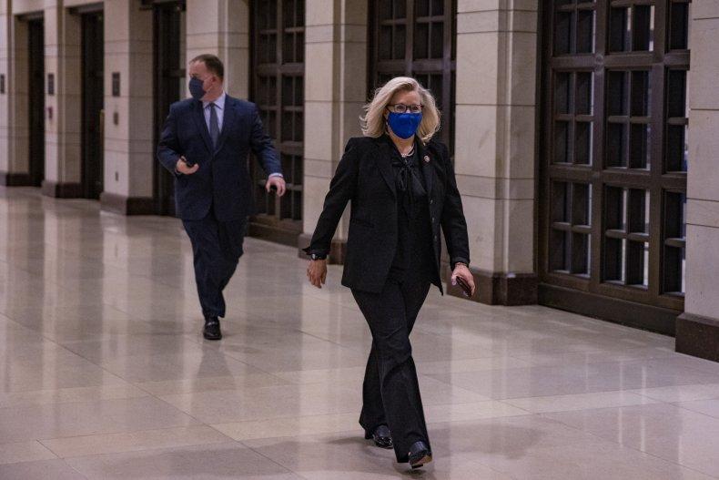 Liz Cheney Marjorie Taylor Greene Trump Impeachment