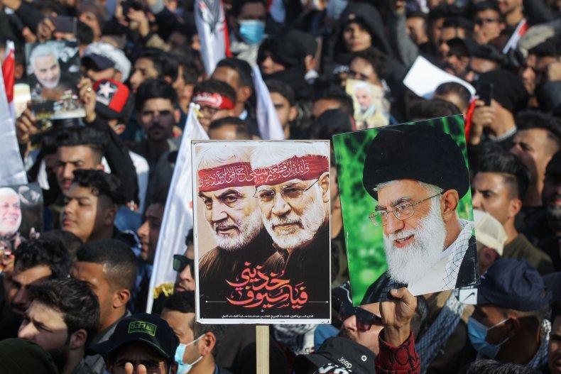 soleimani, muhandis, khamenei, iraq