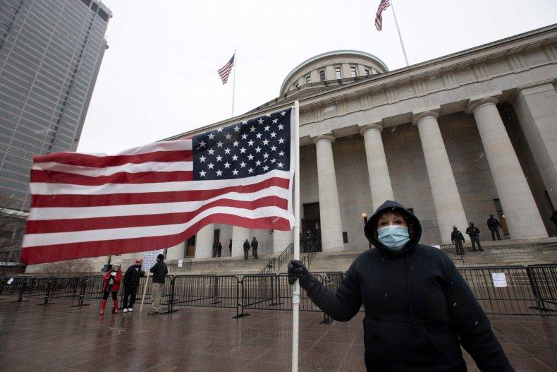 Ohio Statehouse January 2021