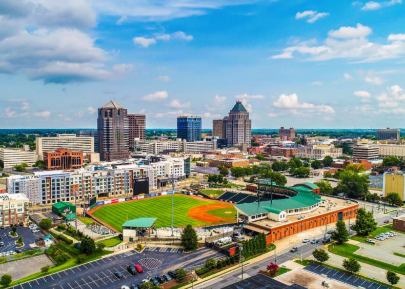 #85. Greensboro, North Carolina