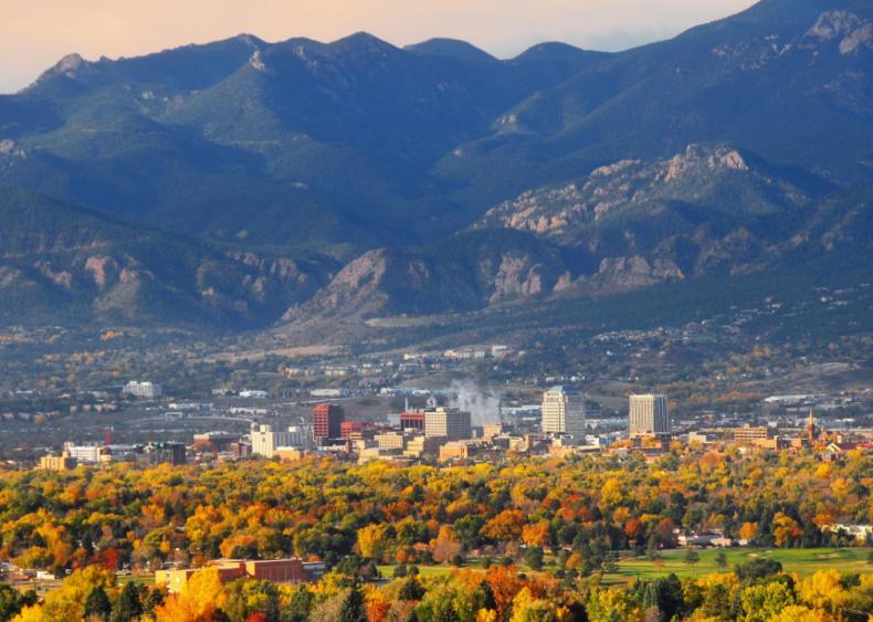 #50. Colorado Springs, Colorado