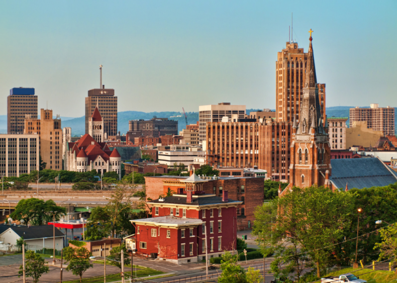 #3. Syracuse, New York