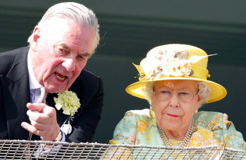 Queen Elizabeth II and Lord Samuel Vestey