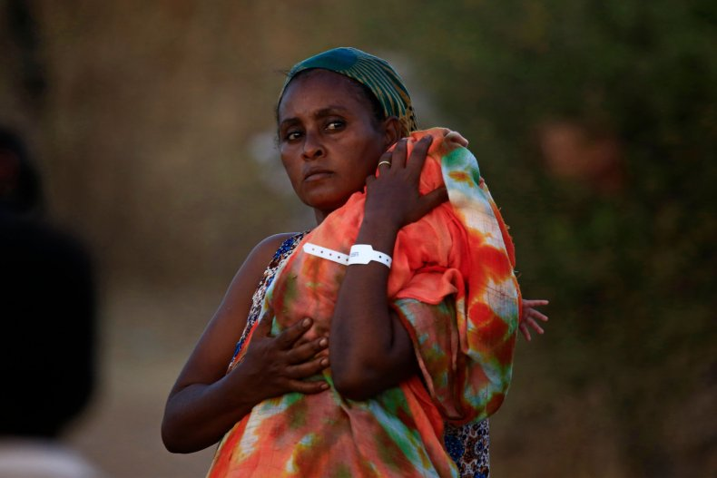 Ethiopian refugee