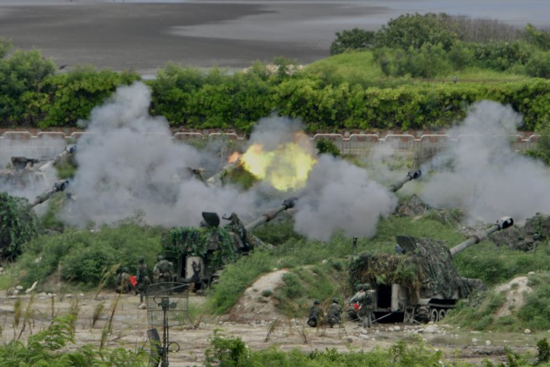 taiwan, us, military, weapons, drills