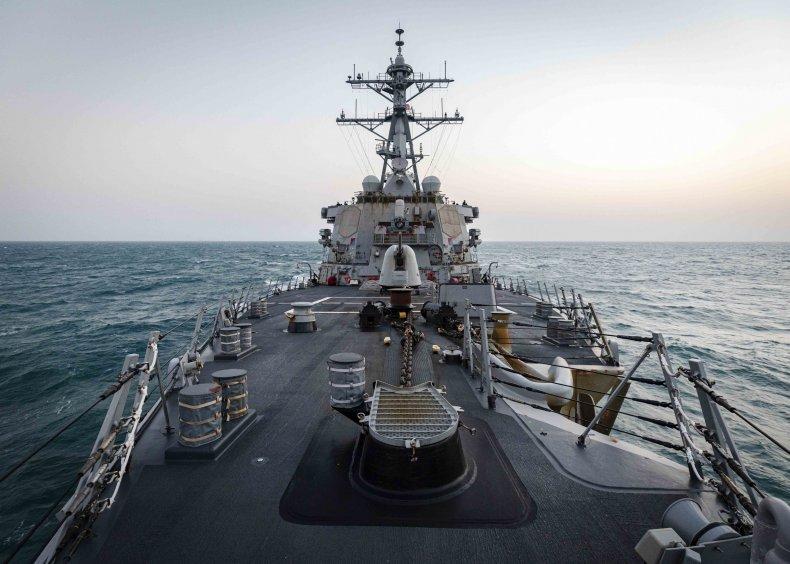 us, navy, john, mccain, taiwan, strait