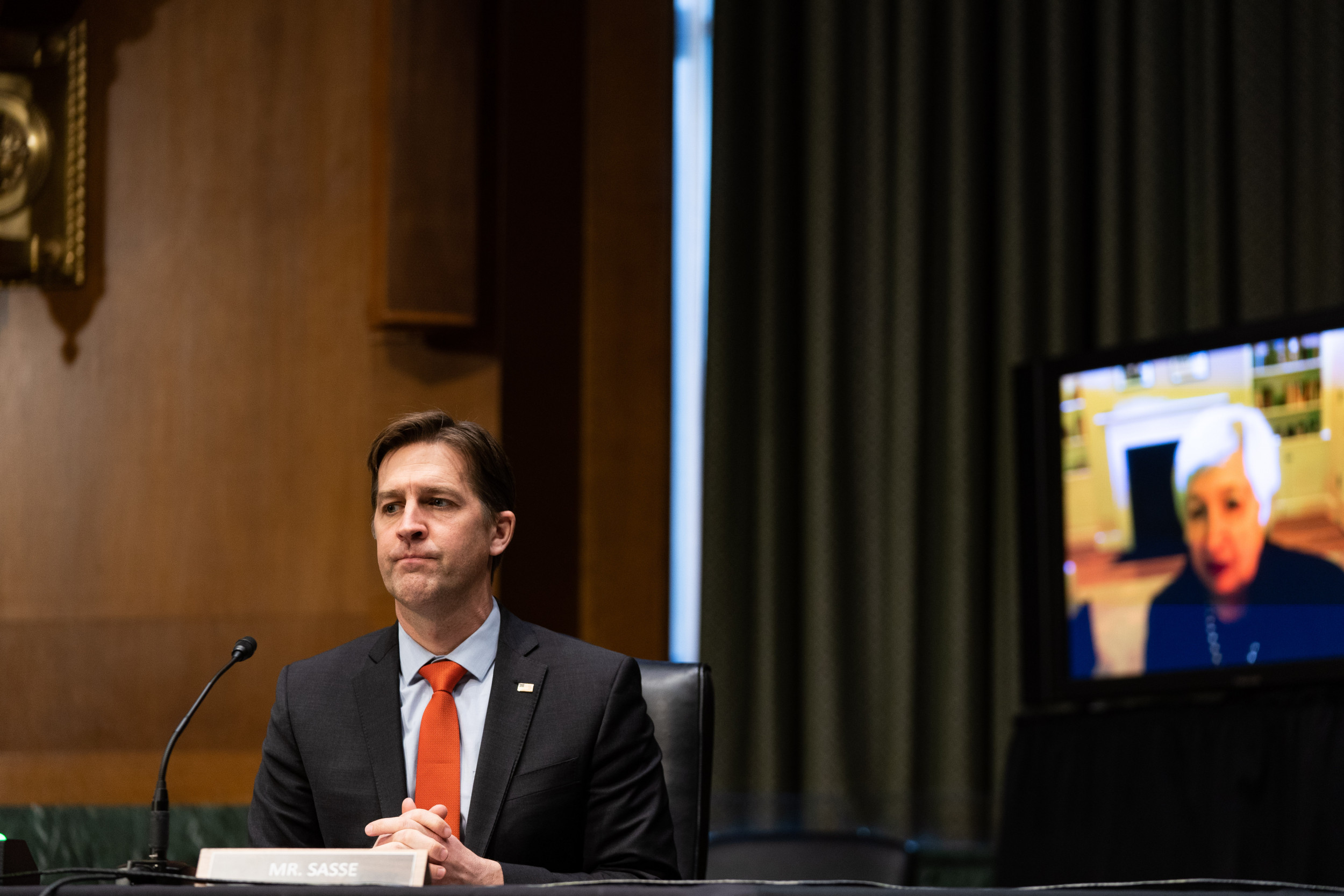 Censured Sen. Ben Sasse Says Punishing Anti-Trump Republicans is 'Civic Cancer for the Nation' thumbnail