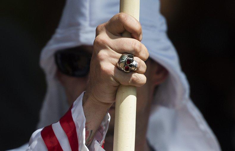 Ku Klux Kland Black Lives Matter Court