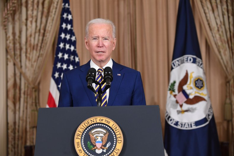 Joe Biden speaks on foreign policy