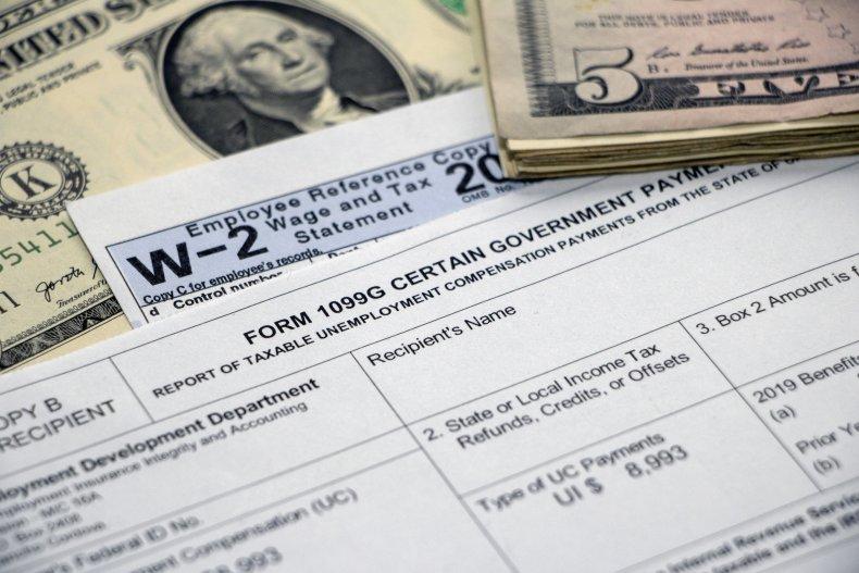 Form 1099G for Unemployment Benefits