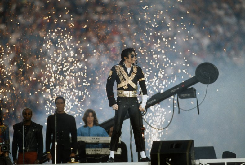 Michael Jackson Super Bowl