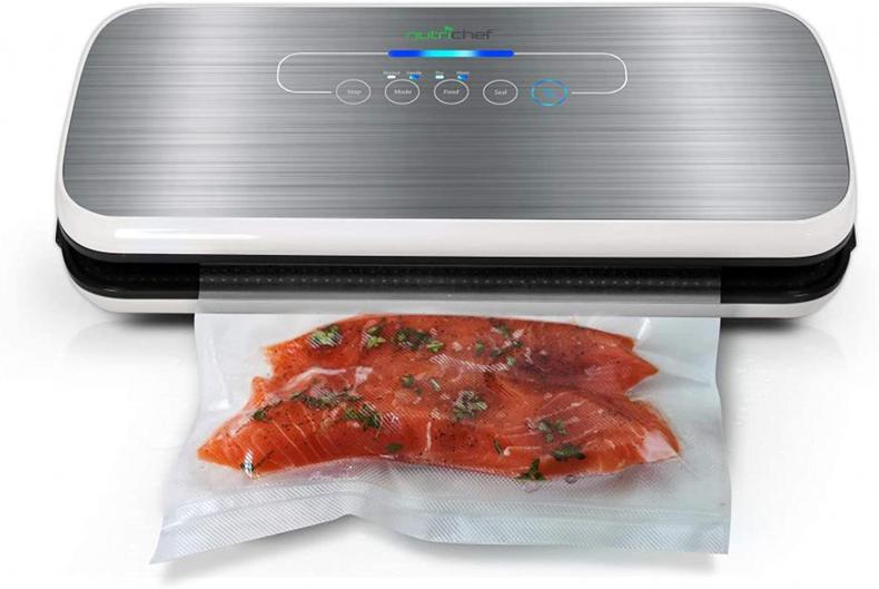 Vacuum sealer food storage