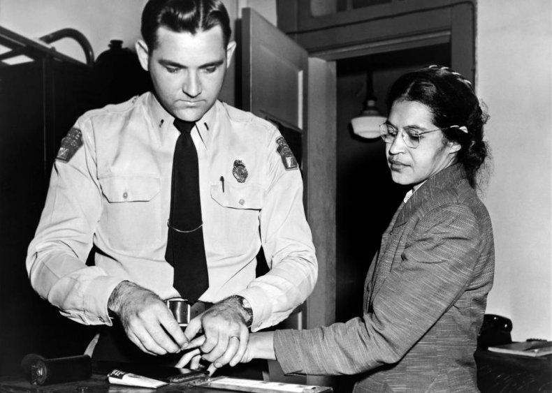 Alabama: Rosa Parks takes a stand