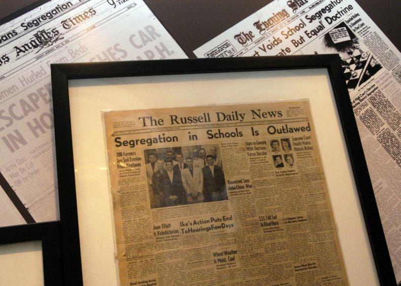 Kansas: Plessy v. Ferguson meets its end