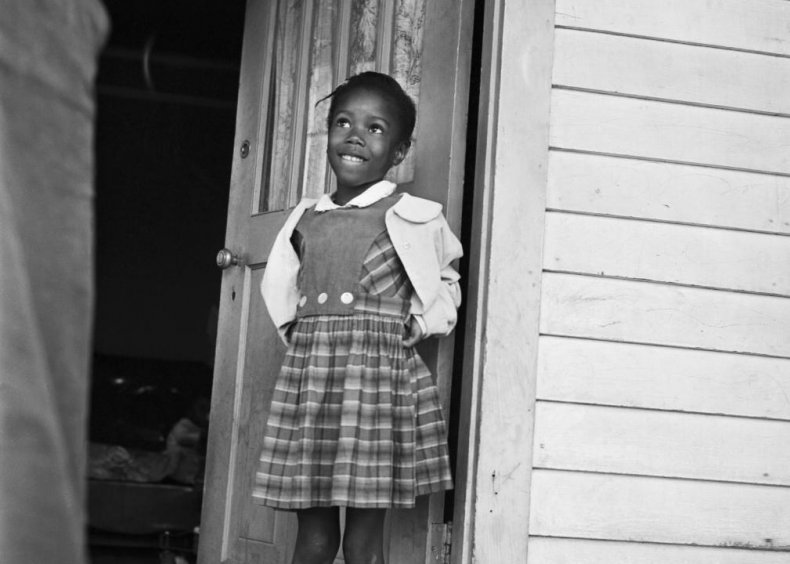 Louisiana: A little girl brings a burden to school