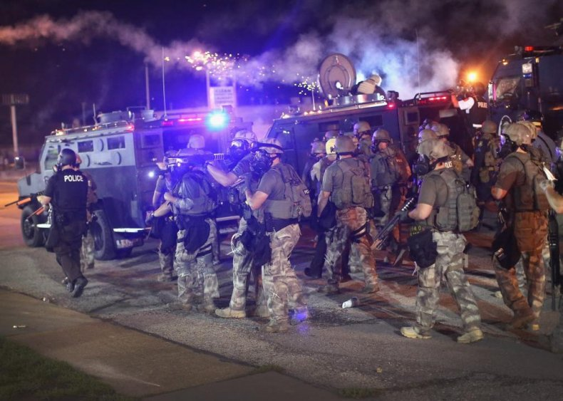 Missouri: Ferguson erupts