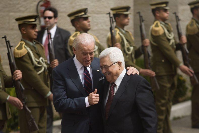 palestine, abbas, biden, meeting, 2010