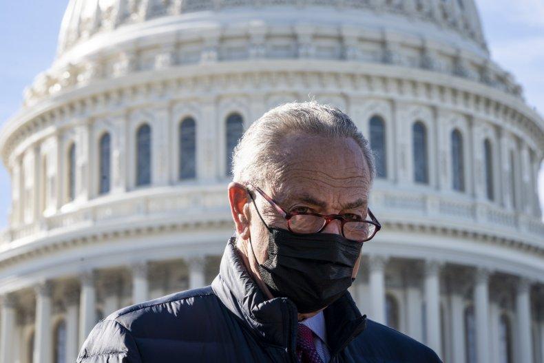 Schumer Filibuster Senate Progressives