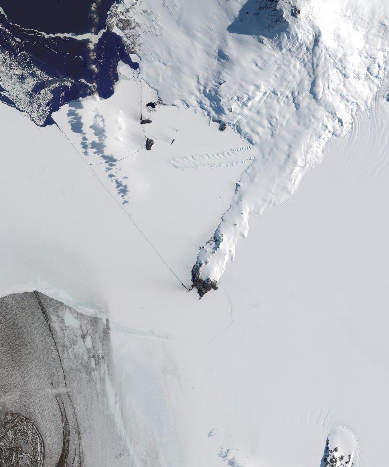 cMurdo Research Station in Antarctica