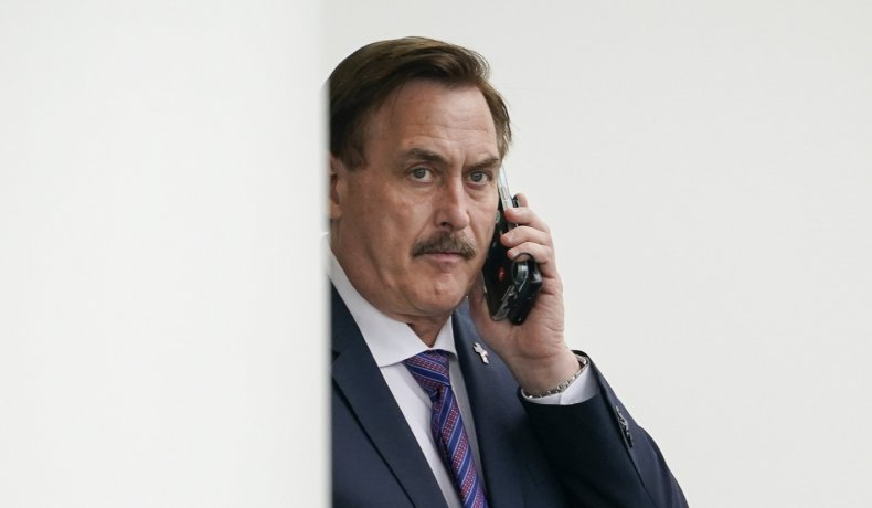 MyPillow CEO Mike Lindell at White House