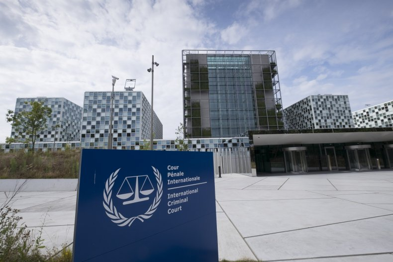 International Criminal Court in The Hague, Netherlands