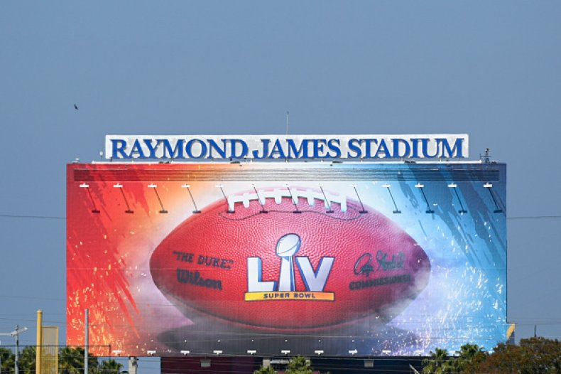 Raymond James Stadium Super Bowl LV