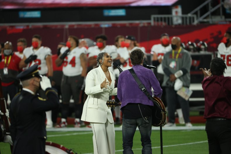 Super BOwl National Anthem Jazmine Sullivan Church