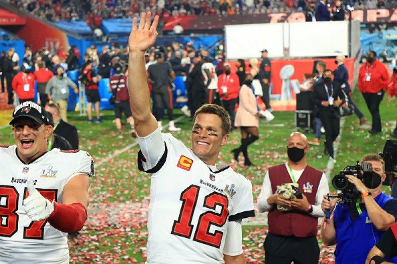Tom Brady Super Bowl LV MVP