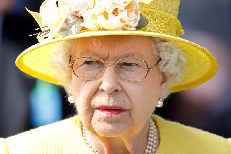 Queen Elizabeth II at Epsom Horse Racing