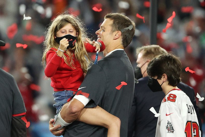 Tom Brady of the Tampa Bay Buccaneers