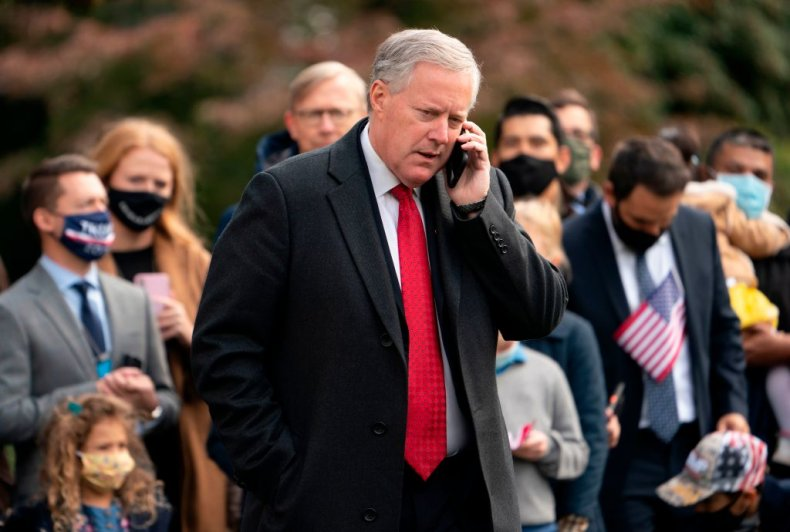 Former WH Chief of Staff Mark Meadows